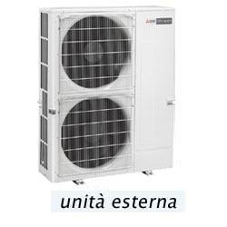 Multisplit mitsubishi electric pumy p112vkm1 serie small y for Climatizzatori multisplit